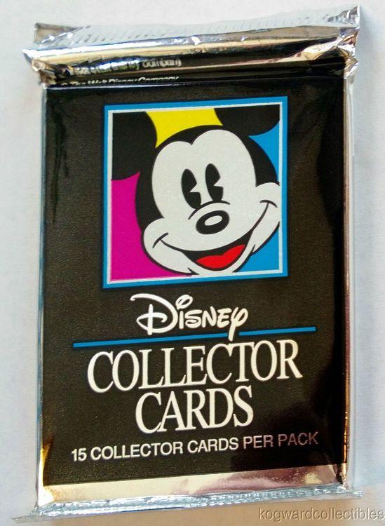 1992 Disney Collector Cards (Löspaket)
