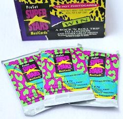1991 Pro Set Super Stars Musicards (Löspaket)