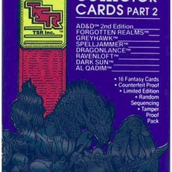 1992 TSR Dungeon & Dragons Collector Cards (Löspaket)