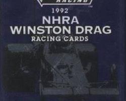1992 Pro Set NHRA Winston Drag (Löspaket)
