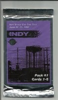 HiTech Indy Tire Test Cards (Löspaket)