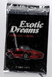 1992 ASM Exotic Dreams Collectors Cards (Löspaket)