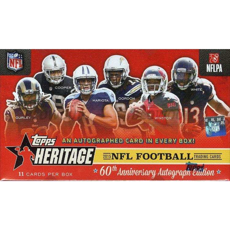 2015 Topps Heritage Football (Hobby Box)
