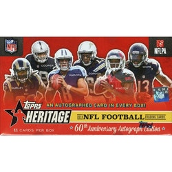 2015 Topps Heritage Football (Hobby Box)