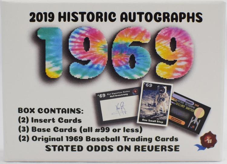 2019 Historic Autographs 1969 (Hobby Box)