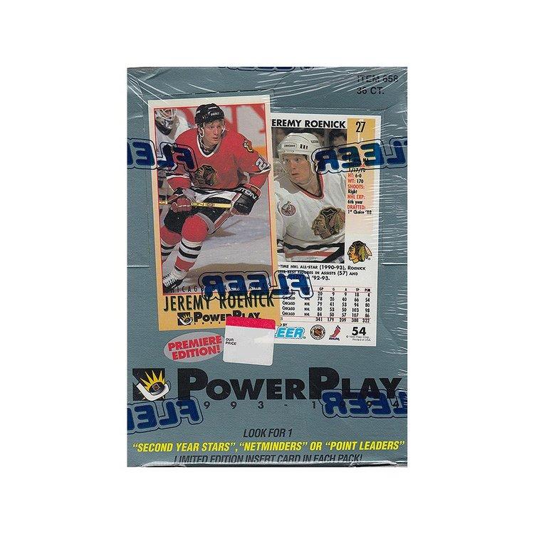 1993-94 Fleer Power Play (Hobby Box)