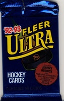 1992-93 Fleer Ultra (Löspaket)