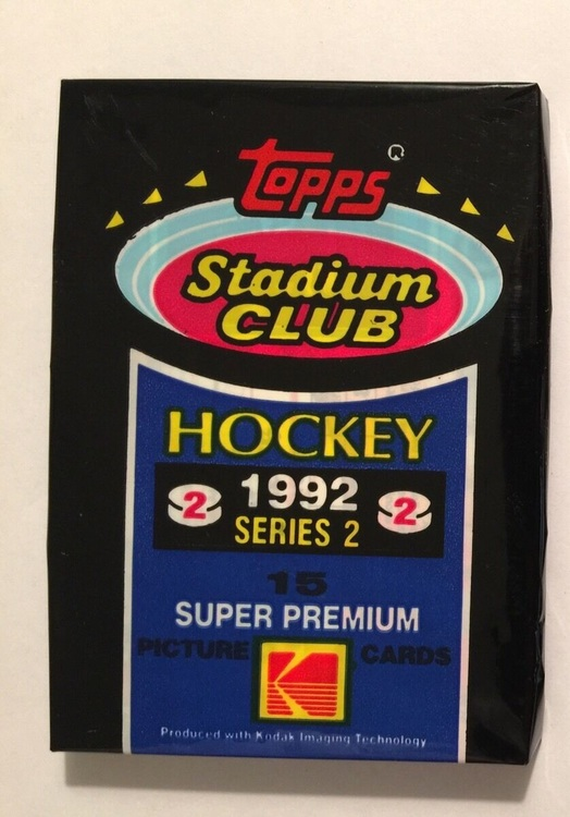 1992-93 Stadium Club (Löspaket)