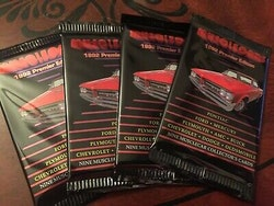 1992 CAC Muscle Cards Premier Edition (Löspaket)