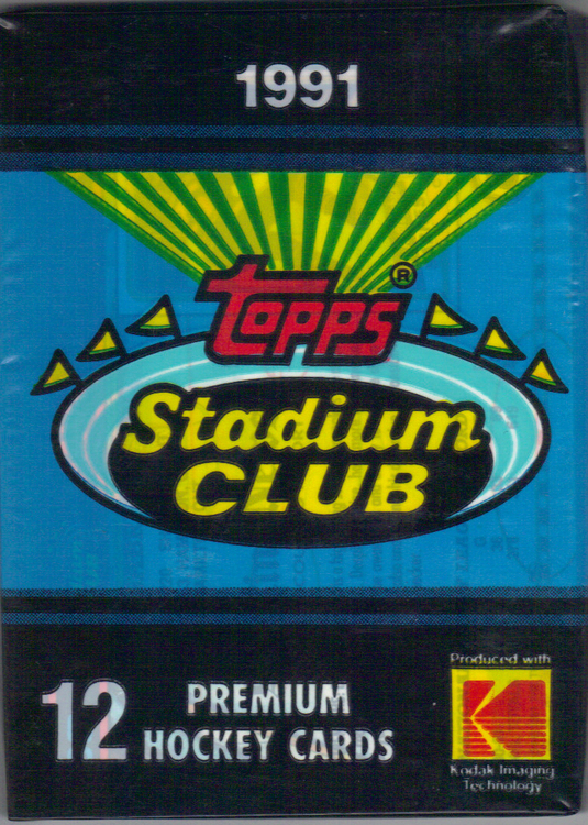 1991-92 Stadium Club (Löspaket)