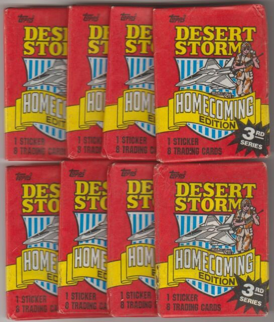 1991 Topps Desert Storm Homecoming Edition (Löspaket)