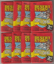 1991 Topps Desert Storm Homecoming Edition (Löspaket)