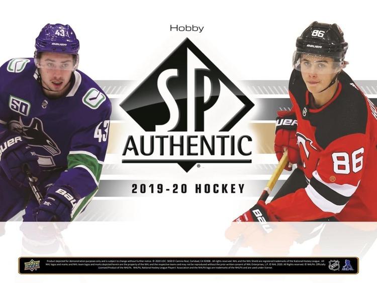 2019-20 SP Authentic (Hobby Box)