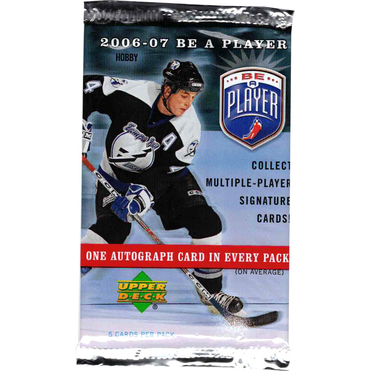 2006-07 Be A Player Signature (Hobby Pack)