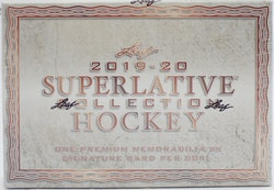 2019-20 Leaf Superlative Collection (Hobby Box)