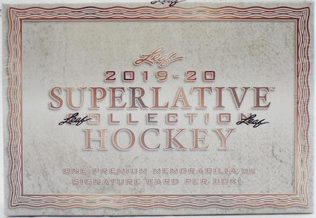 2019-20 Leaf Superlative Collection (Hobby Box)