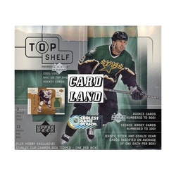 2001-02 Upper Deck Top Shelf (Hobby Box)
