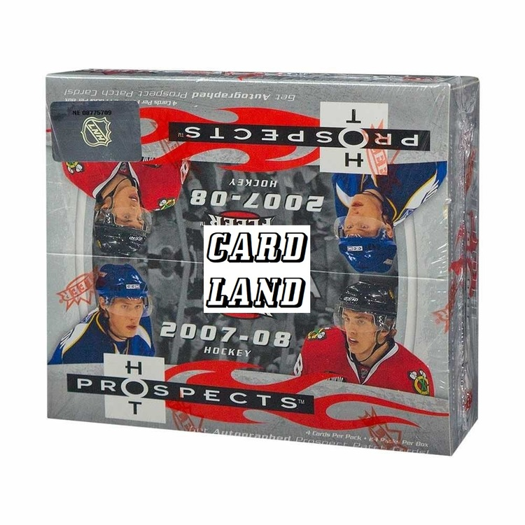 2007-08 Fleer Hot Prospects (24ct Retail Box)