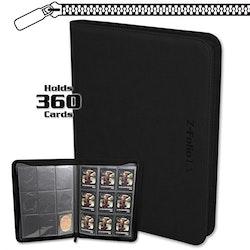 BCW Z-Folio 9-Pocket LX Album - BLACK