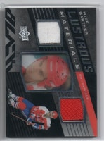 2014-15 UD Black Lustrous Materials #LMMG Mike Gartner (45-CL9-GAMEUSED-CAPITALS)