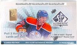 2011-12 SP Authentic (Hobby Box)