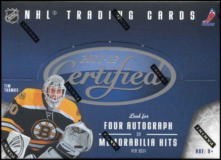 2011-12 Panini Certified (Hobby Box)