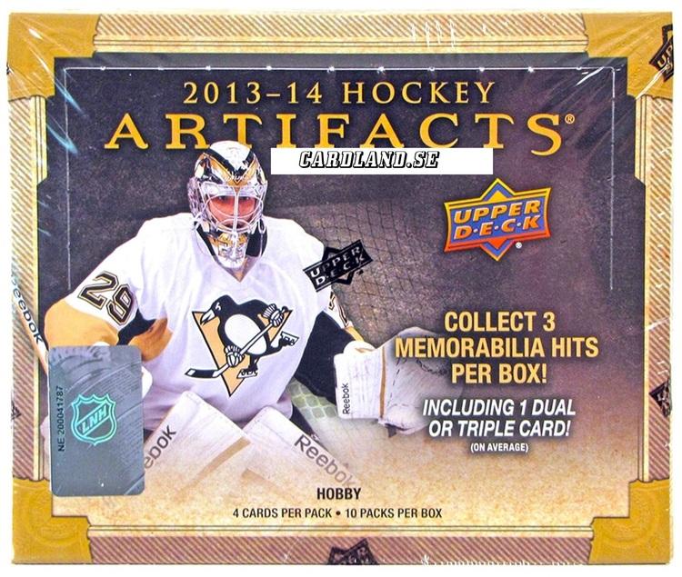 2013-14 Artifacts (Hobby Box)