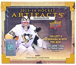 2013-14 Artifacts (Hobby Box)