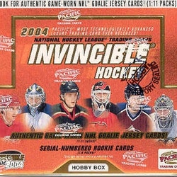 2003-04 Pacific Invincible (Hobby Box)