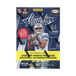 2017 Panini Absolute Football (8ct Blaster Box)