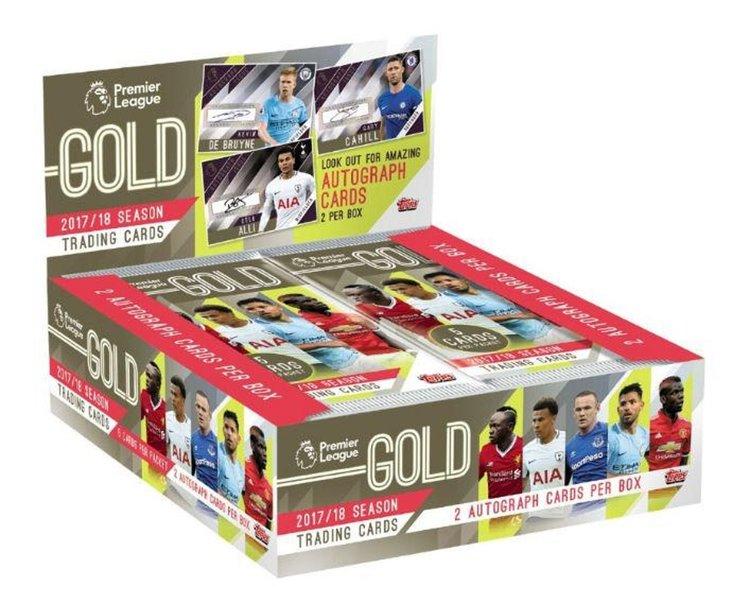 2017-18 Topps Premier League Gold (Hobby Pack)