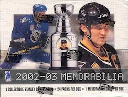 2002-03 Be A Player Memorabilia (Hobby Box)