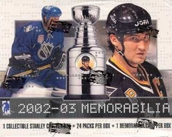 2002-03 Be A Player Memorabilia (Hobby Box)