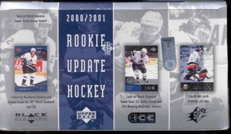 2000-01 Upper Deck Rookie Update (Hobby Box)