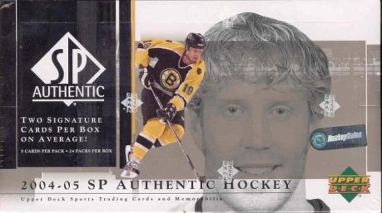 2004-05 SP Authentic (Hobby Box)