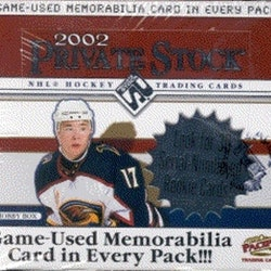 2001-02 Pacific Private Stock (Hobby Box)