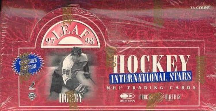 1997-98 Leaf International Canadian (Hobby Pack)