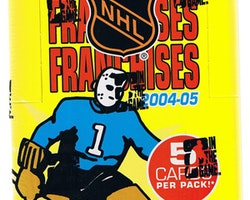 2004-05 In the Game Franchise East (Hobby Box)