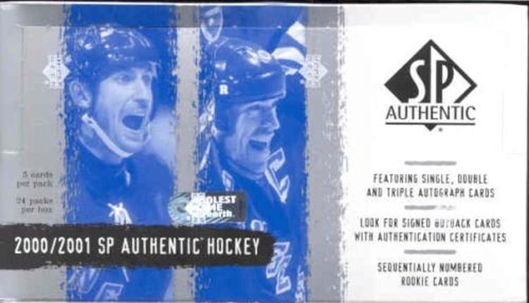 2000-01 SP Authentic (Hobby Box)