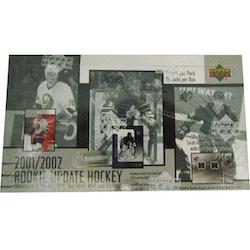 2001-02 Upper Deck Rookie Update (Hobby Box)