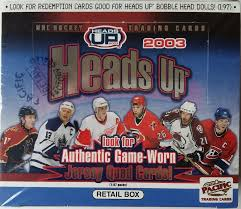2002-03 Pacific Heads Up (Retail Box)
