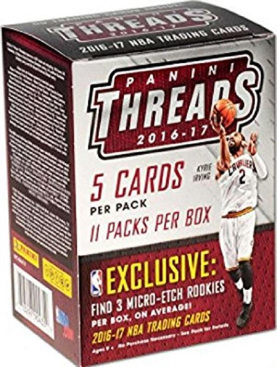 2016-17 Panini Threads Basketball (11ct Blaster Box)
