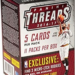 2016-17 Panini Threads Basketball (11ct Blaster Box)