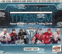 2002-03 Private Stock Titanium (Hobby Box)