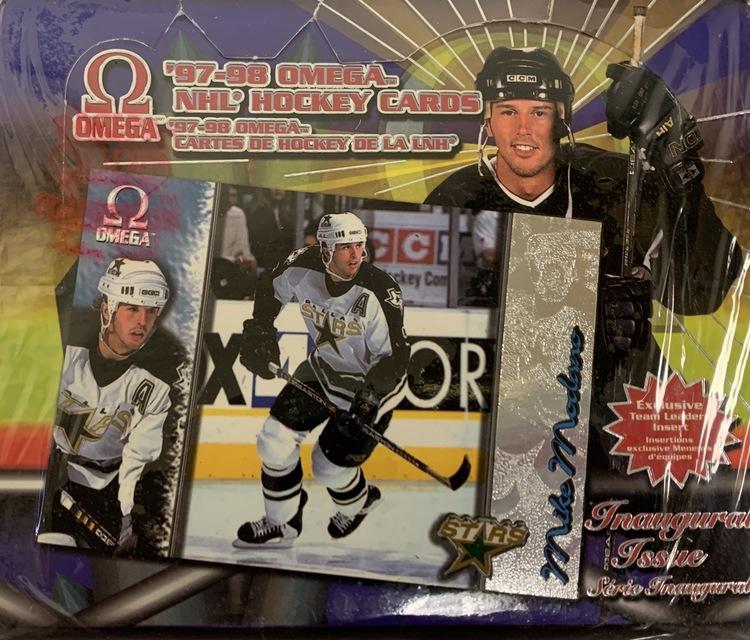 1997-98 Pacific Omega (Retail Box)