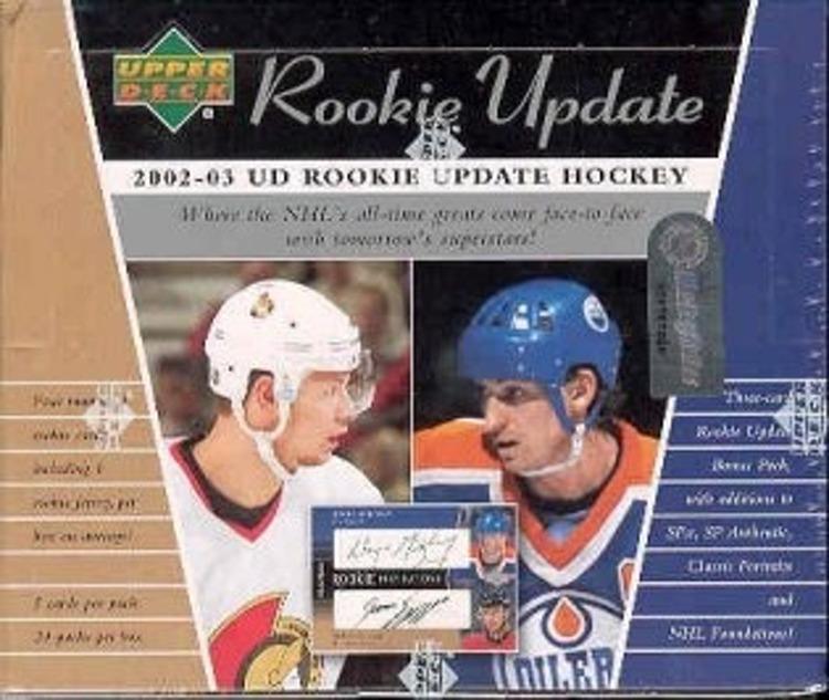 2002-03 Upper Deck Rookie Update (Hobby Box)