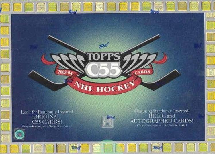 2003-04 Topps C55 (Hobby Box)