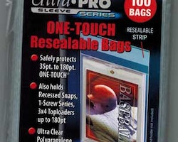 One-Touch Resealable Bags (100st)