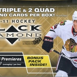 2010-11 Black Diamond (Hobby Box)