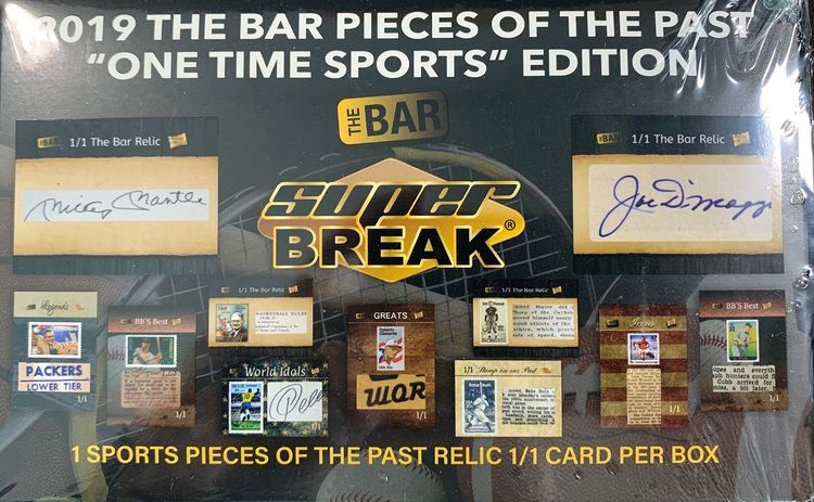 2019 Super Break: Pieces of the Past (One Time Sports Edition)